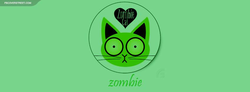 Zombie Cat Facebook Cover