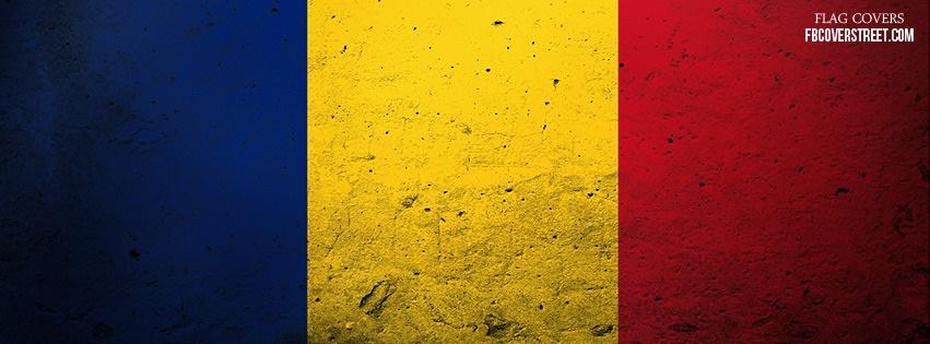 Romania Flag Facebook Cover