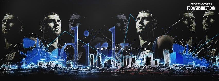 Dirk Nowitzki 5 Facebook cover