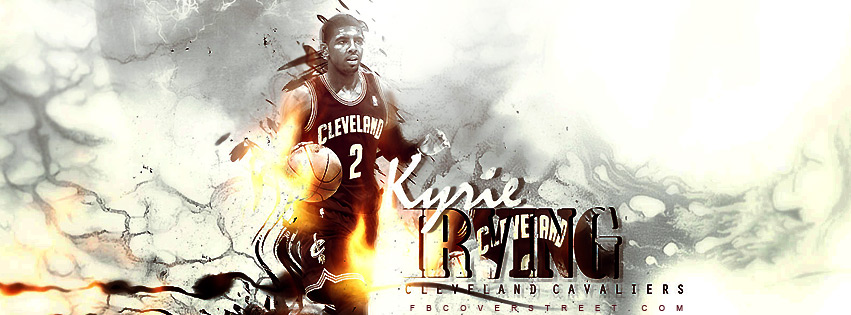 Kyrie Irving Cleveland Cavaliers 4 Facebook cover