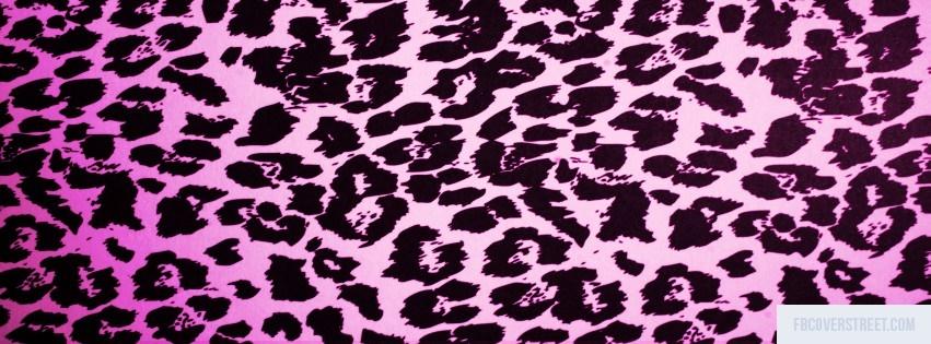 Pink Cheetah Pattern Facebook cover