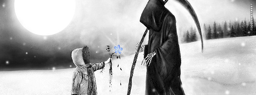 Handing The Reaper Life Facebook Cover