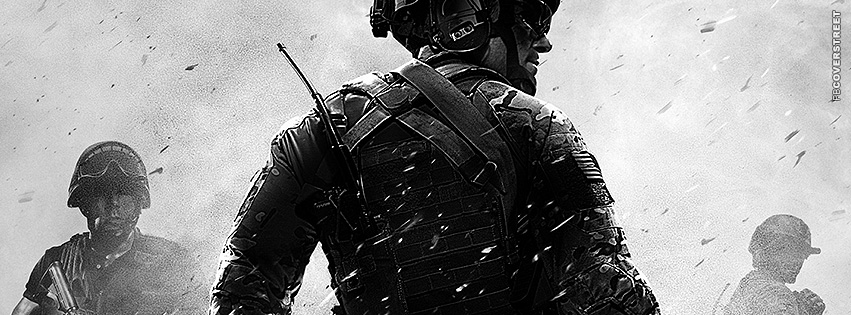 Call of Duty MW3 Watch Your Back  Facebook Cover