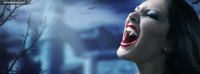Female Vampire Facebook cover