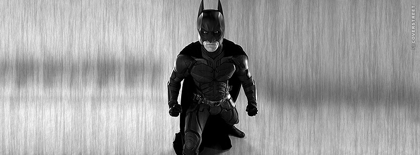 Batman Realistic Figure Facebook Cover