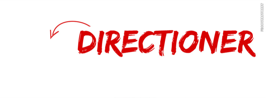 Directioner Arrow Facebook Cover