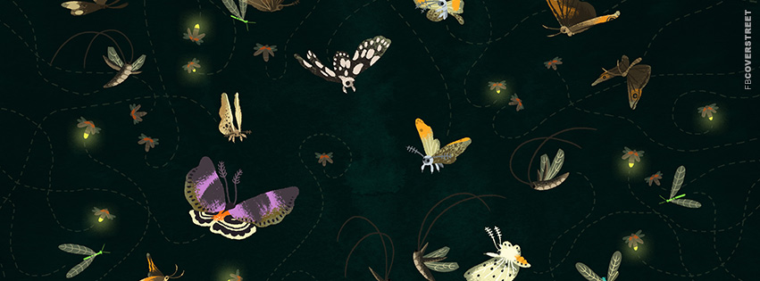 Butterfly Artwork  Facebook cover