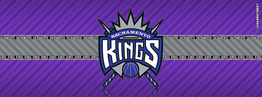 Sacramento Kings Striped Facebook Cover