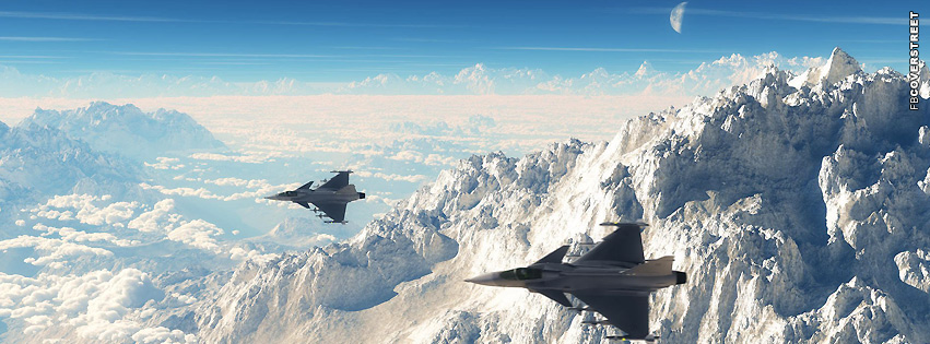 Jets In The Air  Facebook cover
