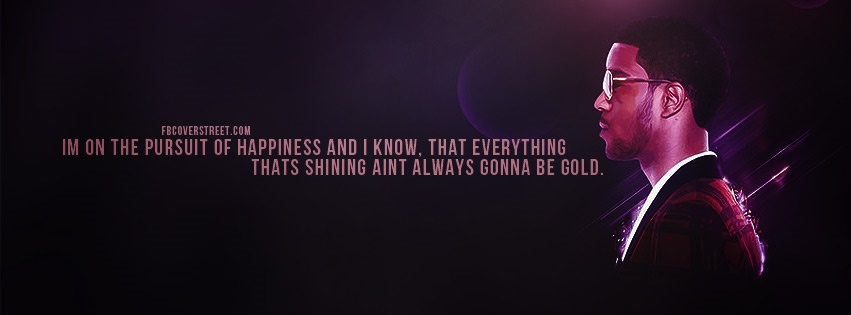 Kid Cudi Pursuit of Happiness Facebook Cover