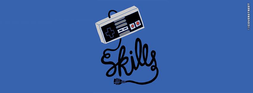 Old School Gaming Skills Nintendo  Facebook cover