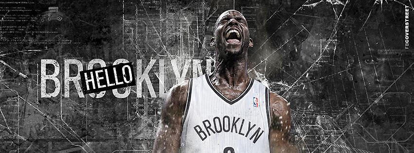 Brooklyn Nets Hello Kevin Garnett Facebook Cover
