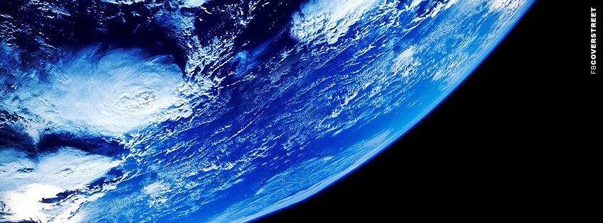 Bottom Side Earth View Facebook cover