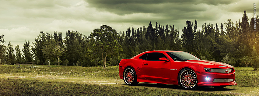 Chevrolet Camaro Photograph  Facebook cover