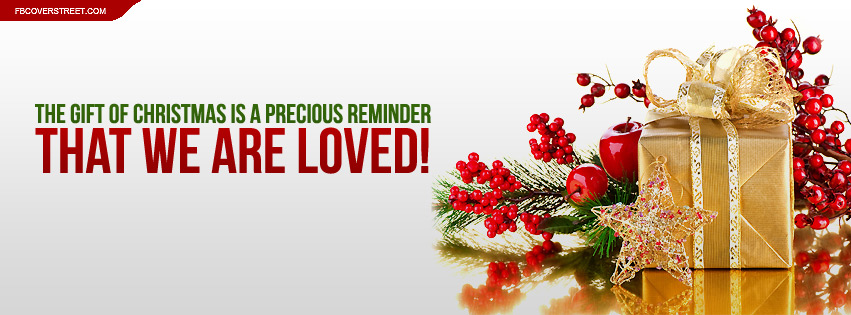 Christmas Is A Precious Reminder Quote Facebook Cover ...