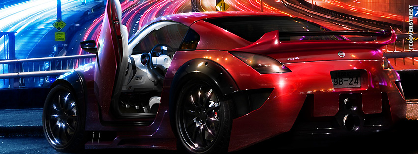 Nissan 350z Roadster  Facebook cover