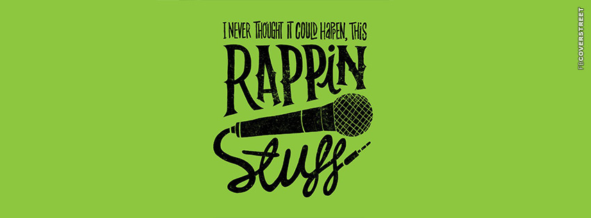 This Rappin Stuff Biggie Quote  Facebook cover