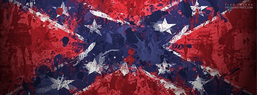 Confederate Flag 4 Facebook Cover