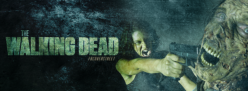 The Walking Dead Season 5 Maggie Zombie Kill Facebook cover
