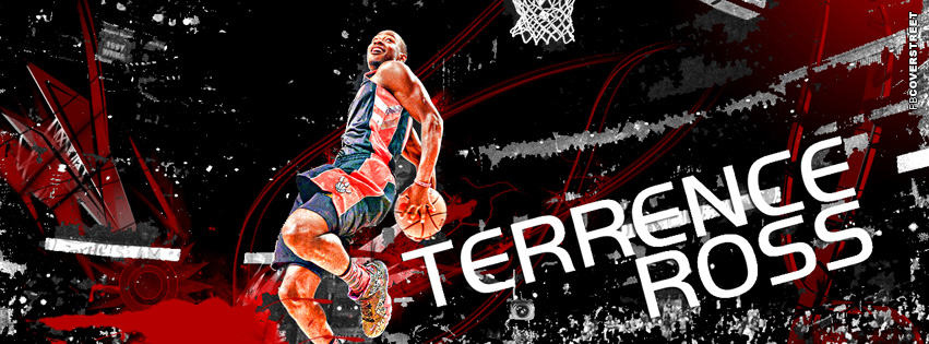 Toronto Raptors Terrence Ross Facebook Cover