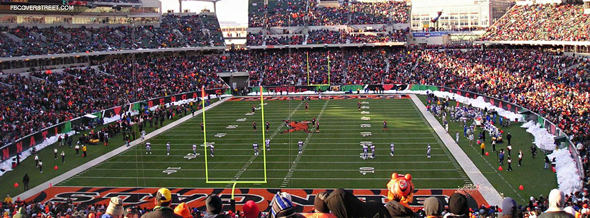 Paul Brown Stadium Cinccinati Bengals 2  Facebook cover