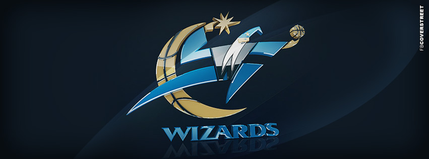 Washington Wizards Modern Logo  Facebook Cover