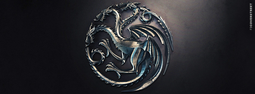 House of Targaryen Game of Thrones Emblem  Facebook Cover