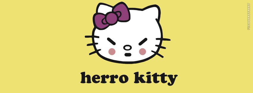 Herro Kitty Hello Kitty  Facebook cover