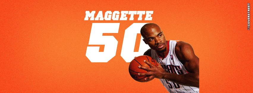 Charlotte Bobcats Corey Maggette  Facebook cover