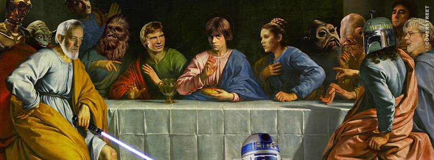 Star Wars Last Supper  Facebook Cover