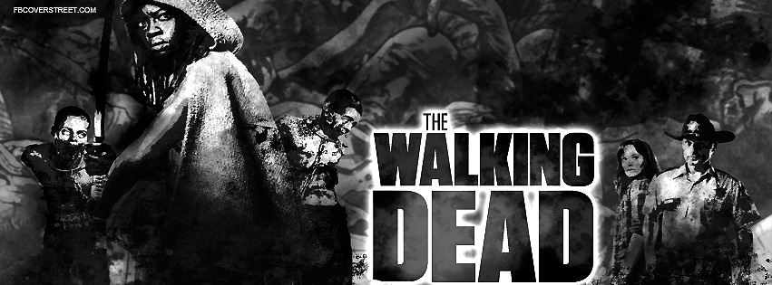 The Walking Dead Season 3 Lead Characters Facebook Cover