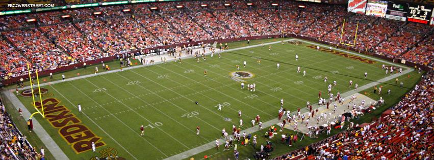 88693187 FedEx Field Washington Redskins Facebook Cover - FBCoverStreet.com