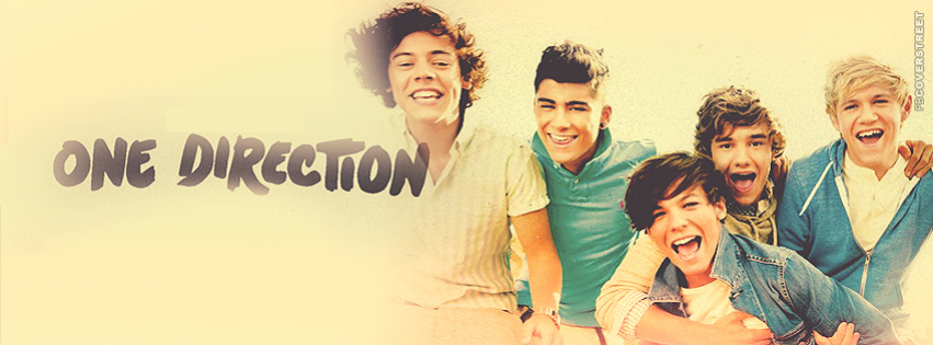 Band One Direction  Facebook Cover