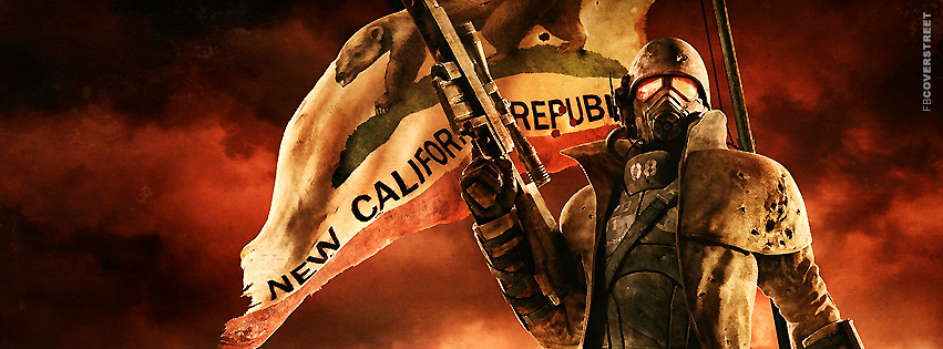 Fallout New Vegas California Republic Facebook cover