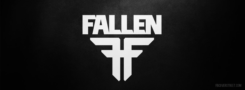 Fallen Original Logo Facebook Cover