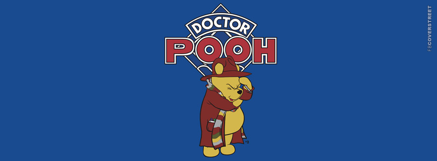 Doctor Who Doctor Pooh Winnie The Pooh Facebook cover