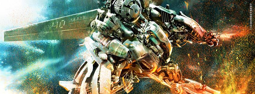 Robot War Transformers Movie Facebook cover
