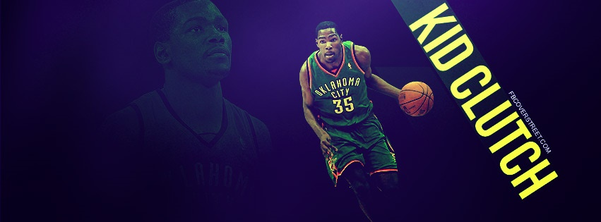 Kevin Durant Kid Clutch Facebook cover