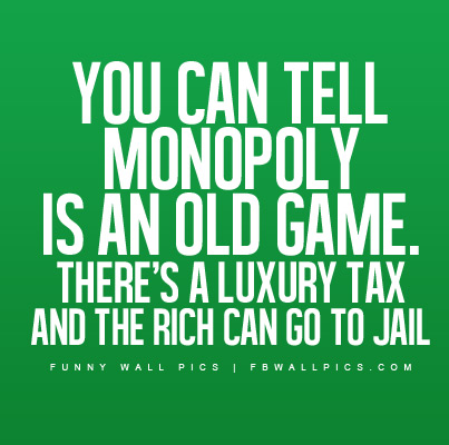 Monopoly Is An Old Game Facebook picture
