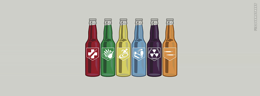 Call of Duty Perk Beverages  Facebook Cover