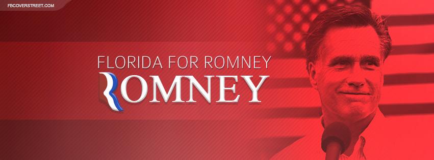 Mitt Romney 2012 Florida Facebook Cover