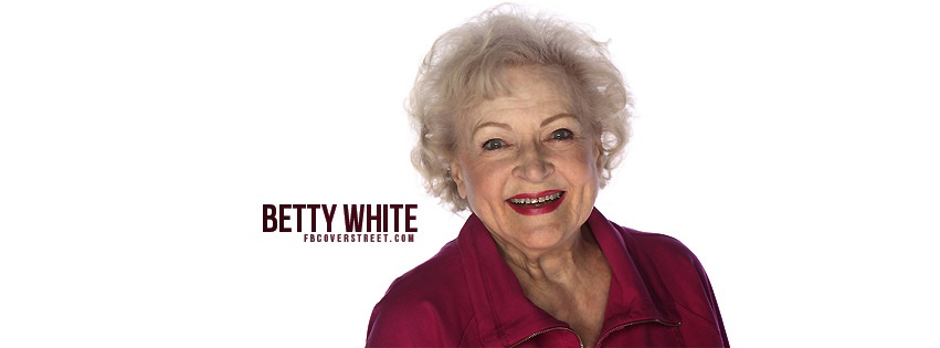 Betty White Facebook Cover