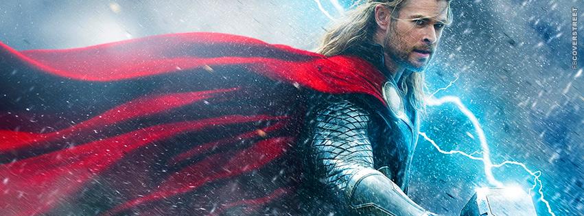 Thor The Dark World Movie Facebook Cover