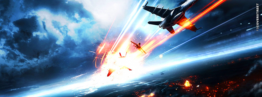 Battlefield 3 Aircraft Attack  Facebook cover