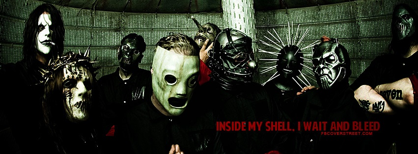 Slipknot Wait And Bleed Quote Facebook Cover