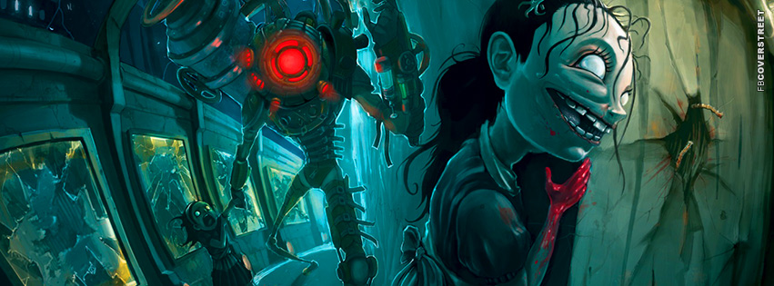 Bioshock 2 The Sisters  Facebook Cover