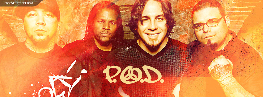 POD Band Photo and Logo Facebook cover