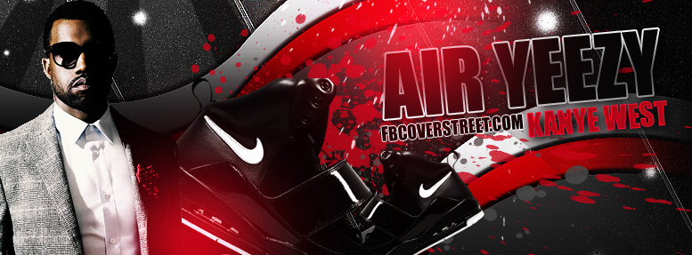 Nike Kanye West Air Yeezy Facebook Cover