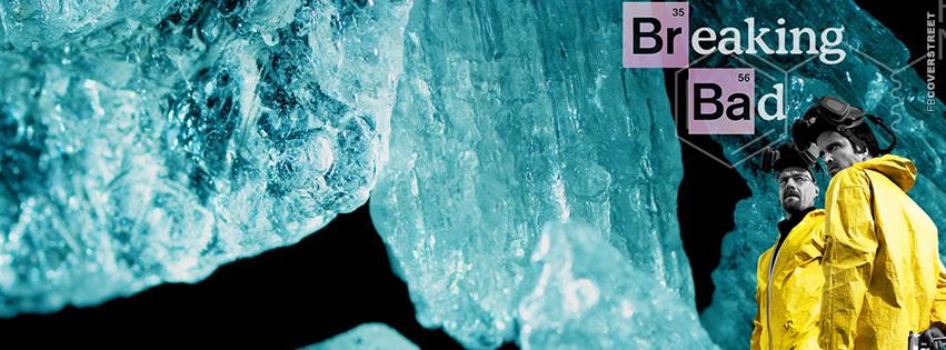 Breaking Bad Walter White Heisenberg Jesse Crystal Meth Facebook Cover
