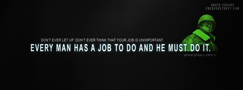 Every Man Has A Job Facebook cover